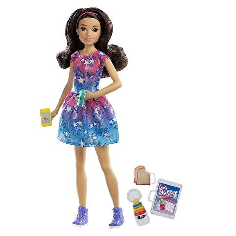 Barbie Barbie Bebek Bakıcısı Barbie Bebekler Renkli